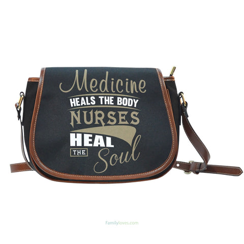 Nurse Heal The Soul Saddle BagFamilyloves