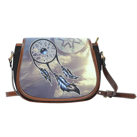 #1 NATIVE DREAMCATCHER SADDLE BAGFamilyloves