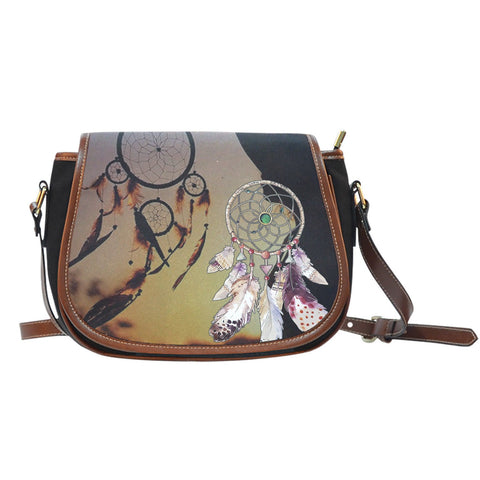 #2 NATIVE DREAMCATCHER SADDLE BAGFamilyloves