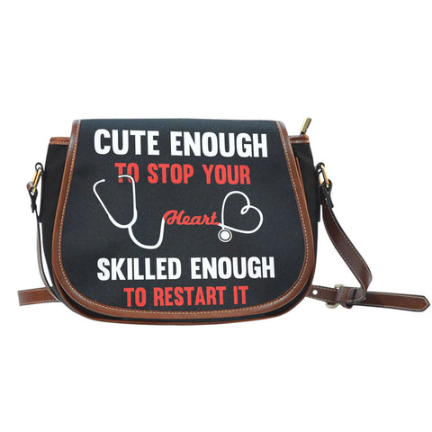 Cute Nurse Saddle BagFamilyloves