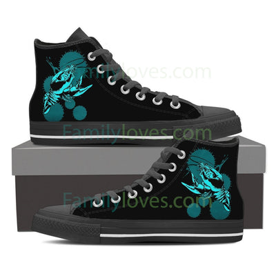 Cancer High Shoes Black