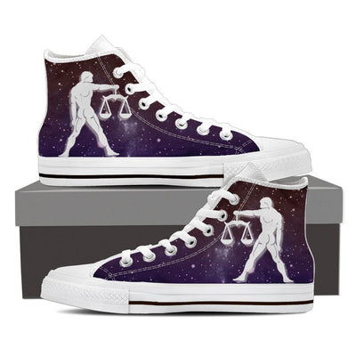 Libra High Shoes Purple