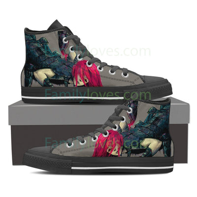 Scorpio High Shoes Grey