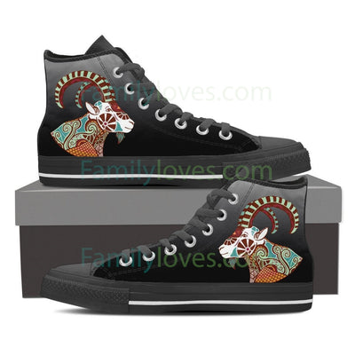 Capricorn  High Shoes Black