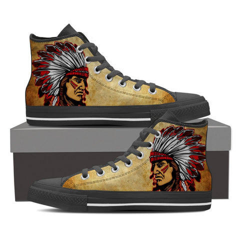Native american face shoes for men