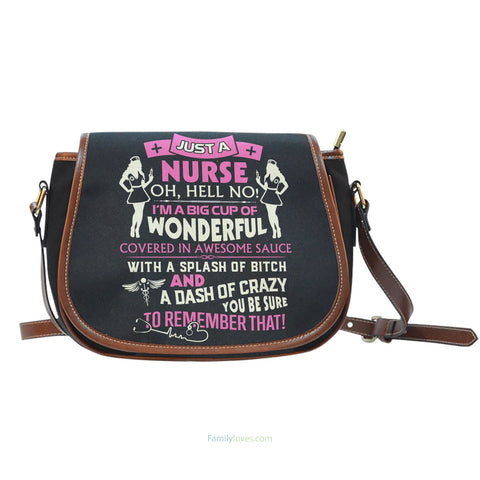 Nurse Saddle BagFamilyloves