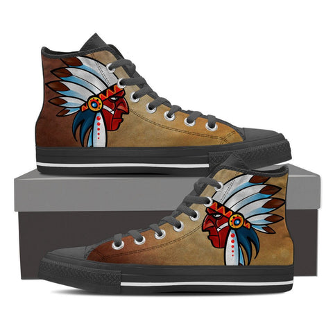 Native American face shoesFamilyloves