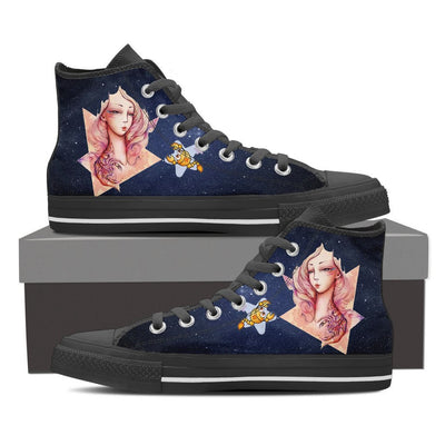 Scorpio High Shoes Blue