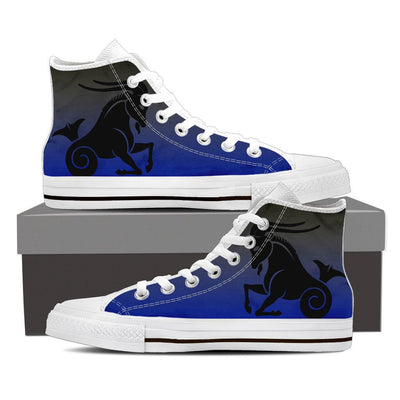 Buy Capricorn High Shoes Blue - Familyloves hoodies t-shirt jacket mug cheapest free shipping 50% off
