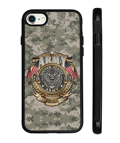 Army this we'll defend Samsung, iPhone case