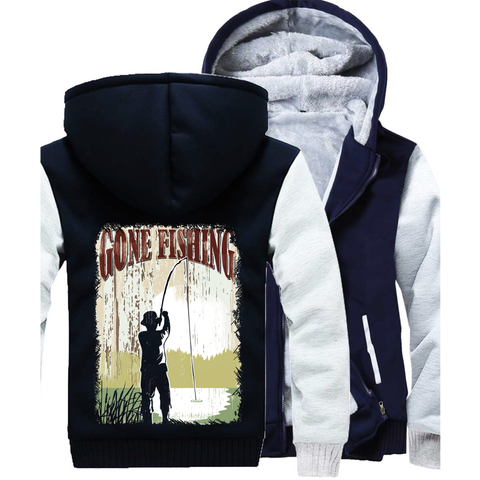 Gone Fishing Mens SweatshirtsFamilyloves