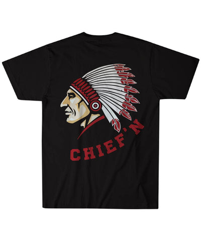Buy CHIEF'N OVER PRINT T-SHIRT - Familyloves hoodies t-shirt jacket mug cheapest free shipping 50% off
