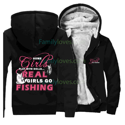 Buy Fishing Girl Sweatshirts jacket hoodie - Familyloves hoodies t-shirt jacket mug cheapest free shipping 50% off