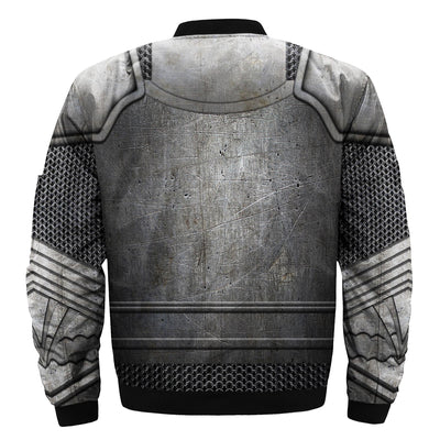 3D over printed Knights Templar Tops bomber jacket