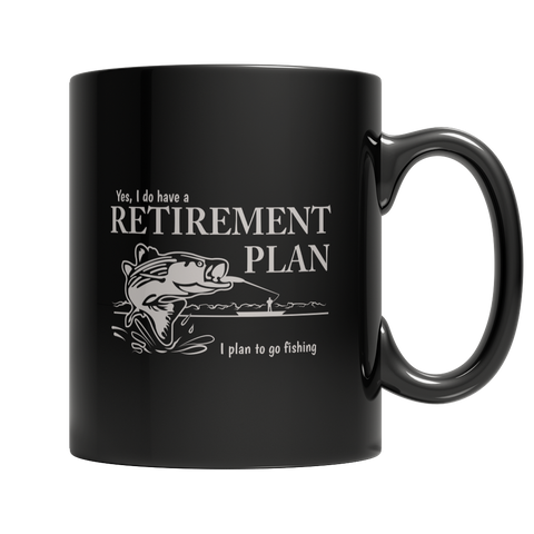 Limited Edition - Fishing Retirement PlanFamilyloves