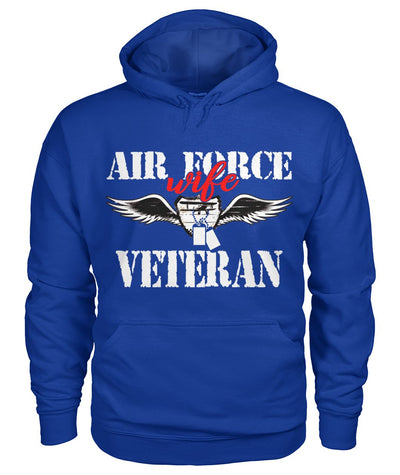 Air force wife veteran women t-shirt, hoodie
