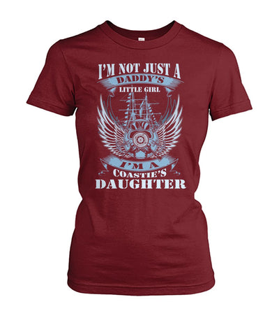 i'm not just a daddy's little girl i'm a coastie's daughter Hoodies/Tshirt