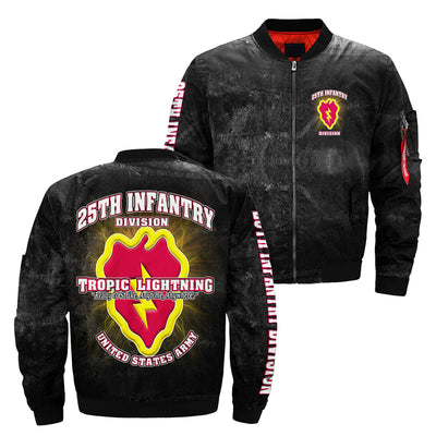 Buy 25th infantry division tropic lightning ready to strike, anytime, anywhere united states army over print jacket - Familyloves hoodies t-shirt jacket mug cheapest free shipping 50% off