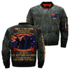 Once A Soldier Always A Soldier - THE AUsTRALIAN ARMY over print Bomber jacket