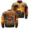 RACE THE RAIN RIDE THE WIND CHASE THE SUNSET ONLY TRUCK DRIVER CAN UNDERSTAND OVER PRINT JACKET