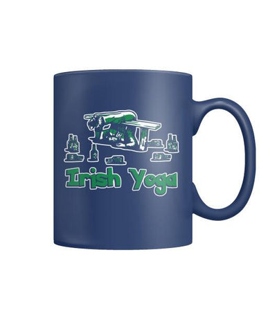 Buy IRISH  YOGA  - MUGS St. Patricks shirt, St. Patrick's Day shirt, St. Patricks day, St Pattys day - Familyloves hoodies t-shirt jacket mug cheapest free shipping 50% off