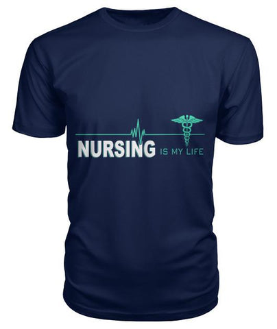 Nursing Is My Life Tshirt