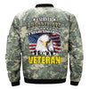 i served i sacrificed i regret nothing i am a veteran OVER PRINT JACKET