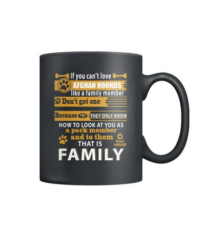 Buy AFGHAN HOUNDS dog - MUGS - Familyloves hoodies t-shirt jacket mug cheapest free shipping 50% off