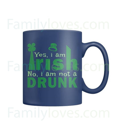 YES, I AM IRISH  - MUGS St. Patricks shirt, St. Patrick's Day shirt, St. Patricks day, St Pattys day shirt, Sizes S-5XLFamilyloves