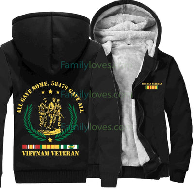 Buy ALL GAVE SOME 58479 GAVE ALL VIETNAM VETERAN OF AMERICA HOODIE - Familyloves hoodies t-shirt jacket mug cheapest free shipping 50% off