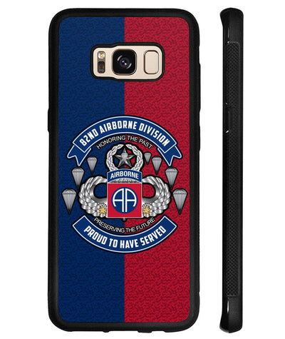 82nd Airborne Division, Honor the past preserving the future Samsung, iPhone case