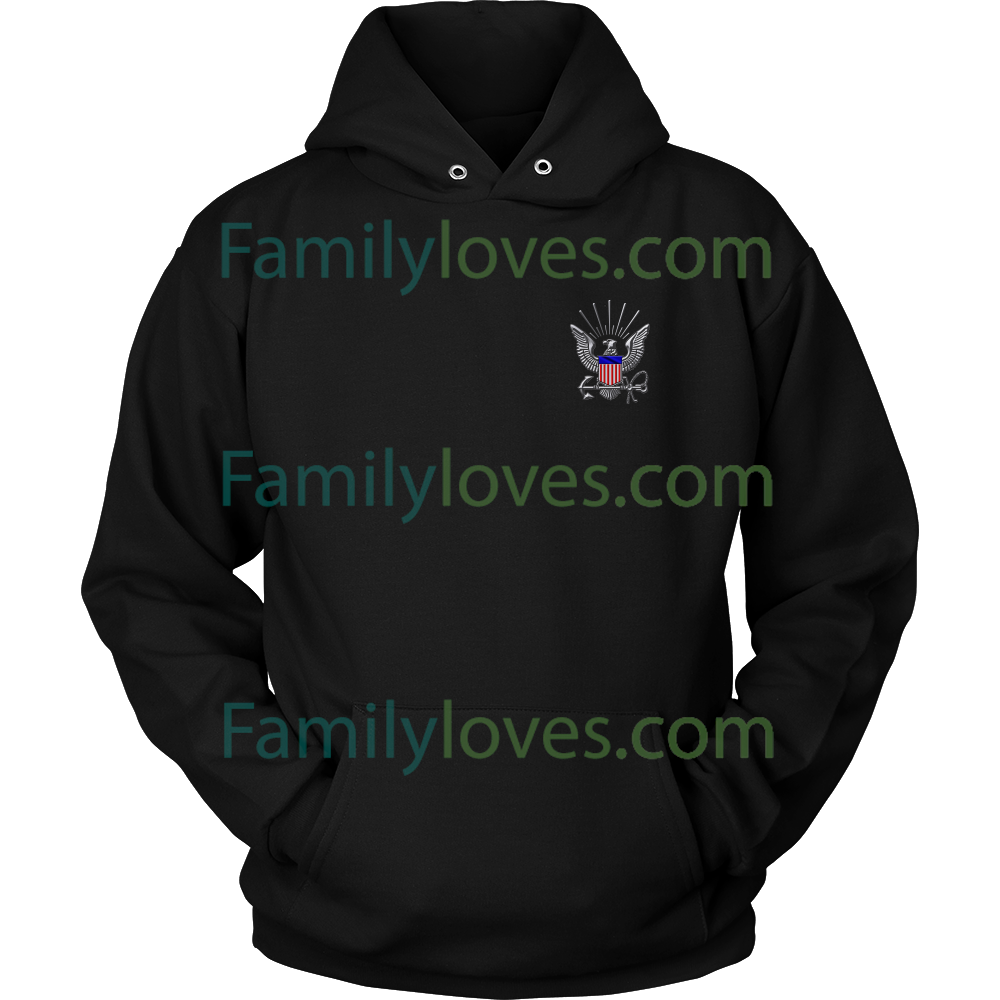 Navy Mom My Daughter My Hero My Sailor Hoodie Familyloves