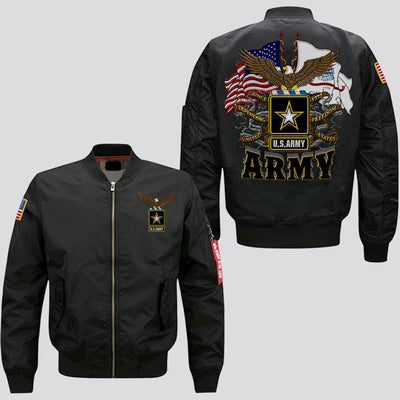 Buy U.S.ARMY, SINCE 1775, DEFENDING FREEDOM EMBROIDERED JACKET - Familyloves hoodies t-shirt jacket mug cheapest free shipping 50% off