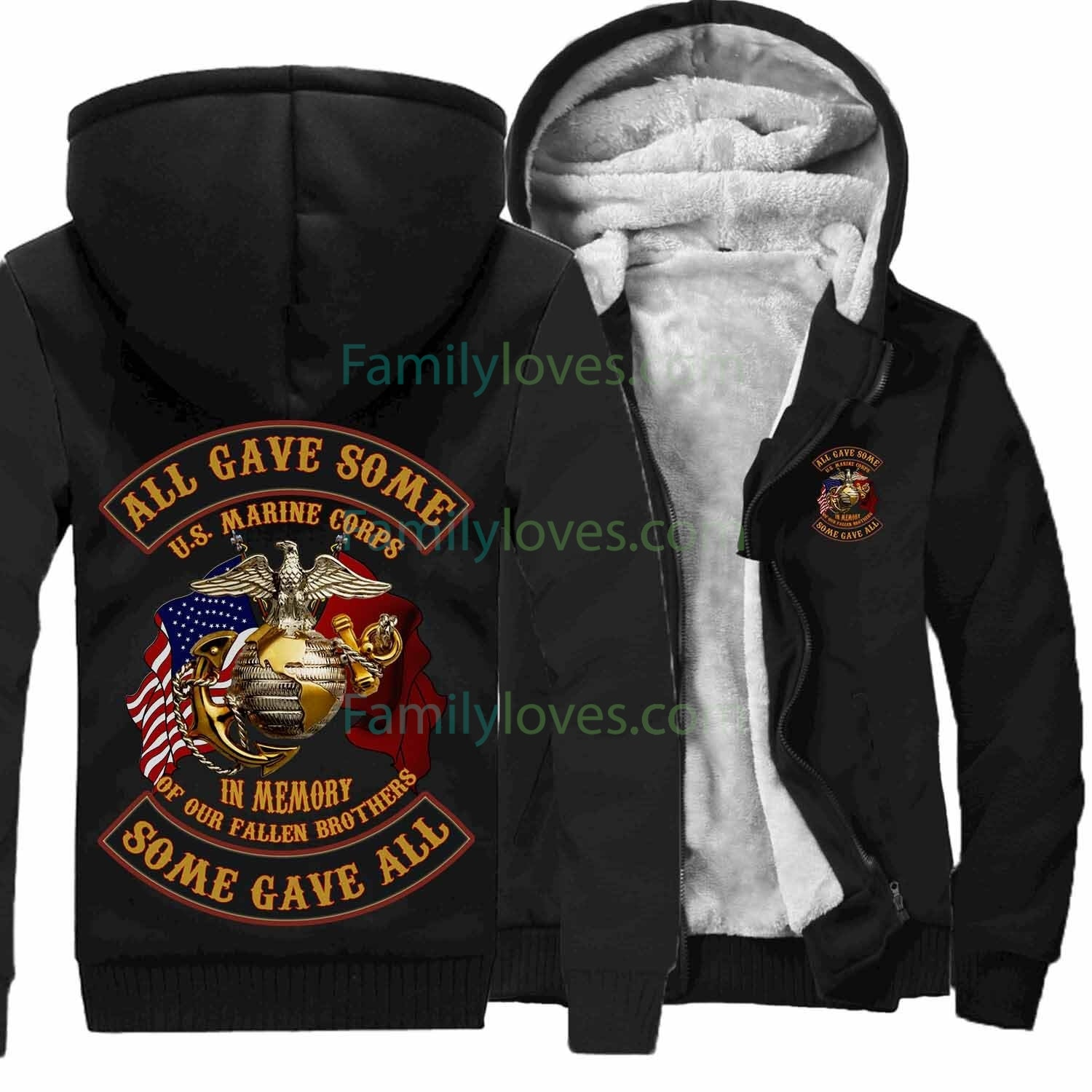 U.S MARINES SEMPER FIDELIS ALL GAVE SOME SOME GAVE ALL