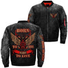 Buy Biker Life USA Men's Born to Ride  Ride to Live over print jacket - Familyloves hoodies t-shirt jacket mug cheapest free shipping 50% off