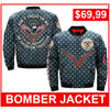 DONT TREAD ON ME, THE 2ND AMENDMENT AN AMERICAN TRADITION OVER PRINT JACKET