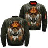 Buy AMERICAN NATIVE WOLF OVER PRINT BOMBER JACKET - Familyloves hoodies t-shirt jacket mug cheapest free shipping 50% off