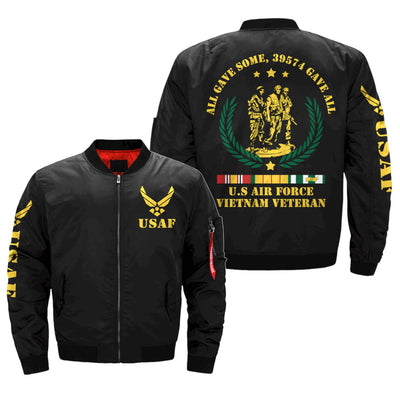 ALL GAVE SOME, 39574 GAVE ALL, AIR FORCE VIETNAM VETERAN OF AMERICA, OVER PRINT JACKET