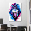 WOLF DREAM BY SCANDY GIRL CANVAS - PORTRAIT