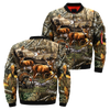 3D All Over Printed Hunting Jacket