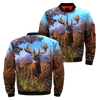 3D All Over Printed Deer Jacket