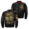 Live to ride - ride to live over print jacket