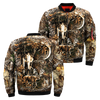 3D All Over Printed Deer Hunting Camo Jacket