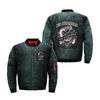 2ND AMENDMEN NOT NEGOTIABLE NRA EST 1871 over print Bomber jacket