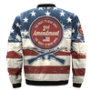Buy 2ND AMENDMENT, THE RIGHT TO BEAR ARMS  over print Bomber jacket - Familyloves hoodies t-shirt jacket mug cheapest free shipping 50% off