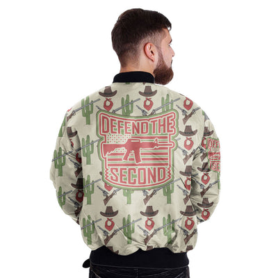 Buy DEFEND THE SECOND over print Bomber jacket - Familyloves hoodies t-shirt jacket mug cheapest free shipping 50% off