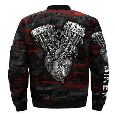 Buy Biker over print jacket - Familyloves hoodies t-shirt jacket mug cheapest free shipping 50% off