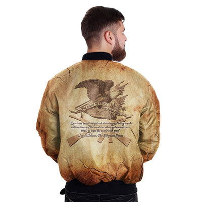 Buy Americans have the right and advantages of being armed... over print Bomber jacket - Familyloves hoodies t-shirt jacket mug cheapest free shipping 50% off