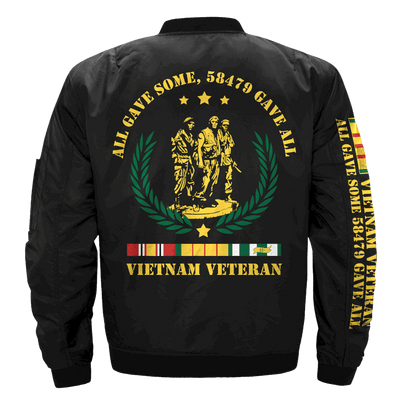Buy all gave some, 58479 gave all, Vietnam Veteran of America OVER PRINT Jaket - Familyloves hoodies t-shirt jacket mug cheapest free shipping 50% off