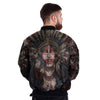 Buy NATIVE GIRL OVER PRINT BOMBER JACKET - Familyloves hoodies t-shirt jacket mug cheapest free shipping 50% off
